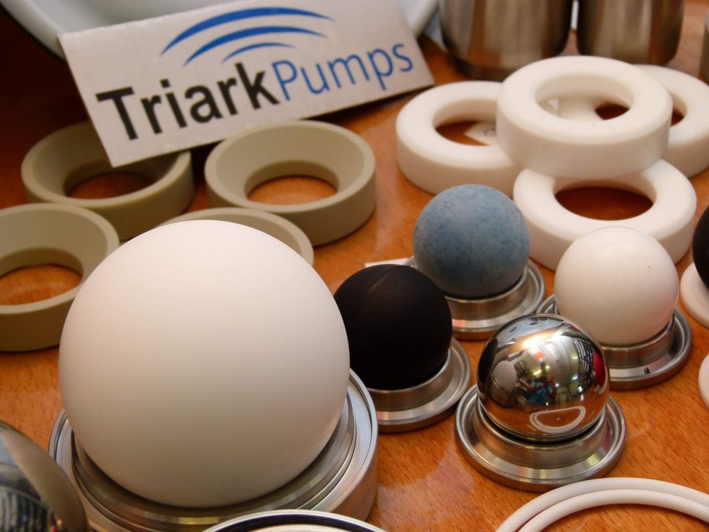 diaphragm pump parts by triark